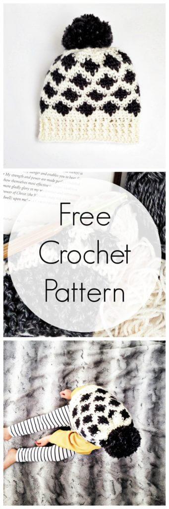 ikat crochet pattern