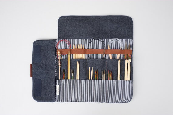 crochet hook organizer, gift guide for yarn lovers, crochet gadgets, yarn gadgets, unique gifts for crocheters