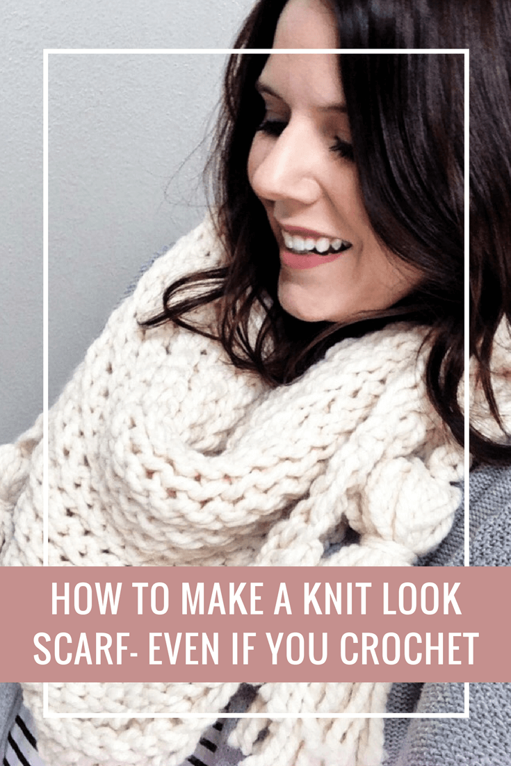 An Easy Crochet Triangle Scarf Pattern That's Great For