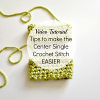 center single crochet tips