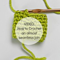 crochet seamless join video
