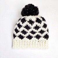 free ikat crochet pattern