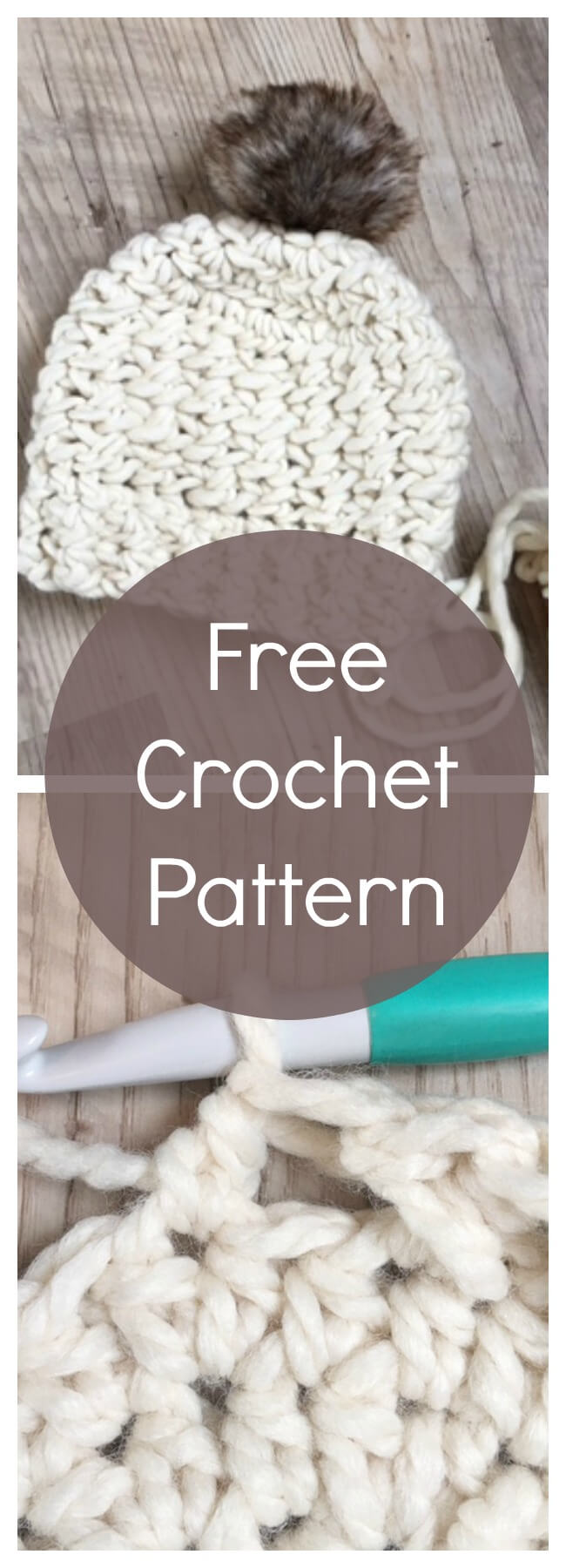 free crochet pattern hat