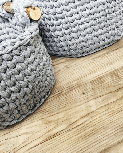 Corral The Clutter With This Crochet Basket Pattern