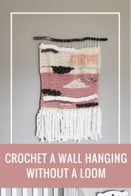 crochet wall hanging tutorial, crochet patterns, diy wall hanging tutorial, yarn wall art