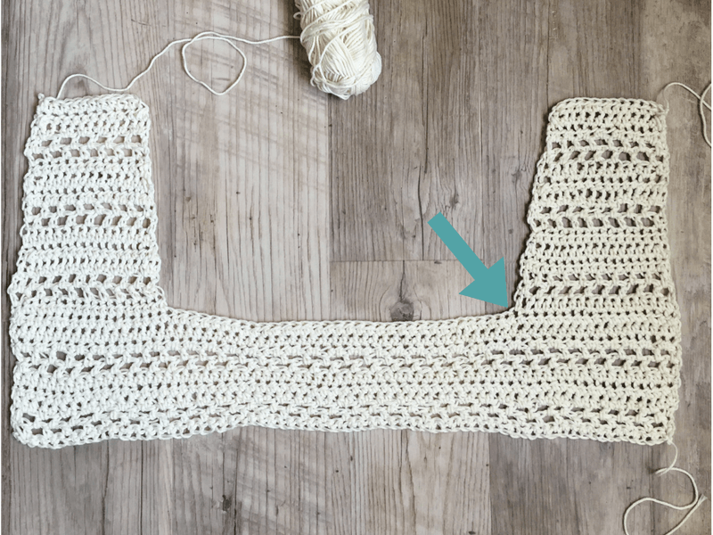 a free crochet vest pattern that's easy for beginners