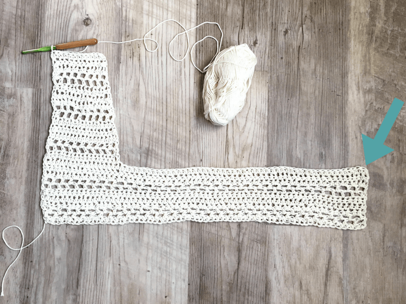 how to crochet a baby vest for beginners