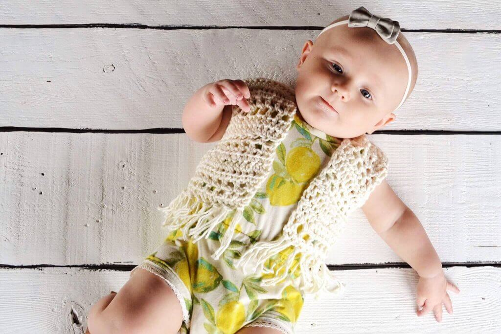 free baby crochet patterns for beginners, baby crochet patterns, infant crochet vest pattern, crochet vest with fringe pattern, fbohemian crochet patterns