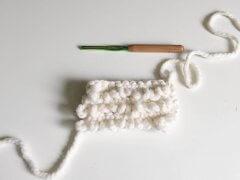 crochet loop stitch tutorial, loop crochet stitch, crochet fringe