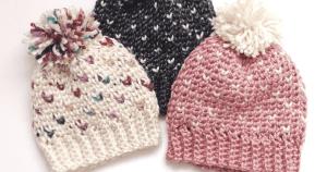 crochet beanie pattern for kids