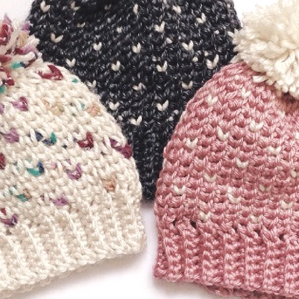 crochet beanie pattern for kids