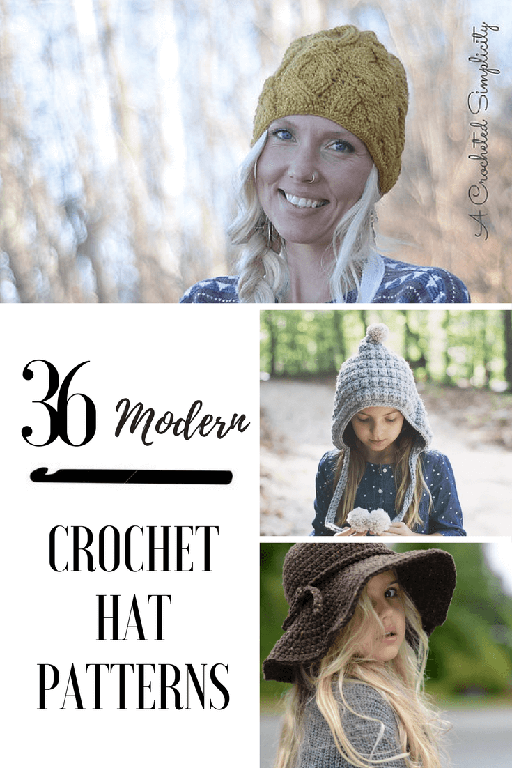modern crochet hat patterns for the whole family. Learn where and how to search for the perfect crochet hat pattern