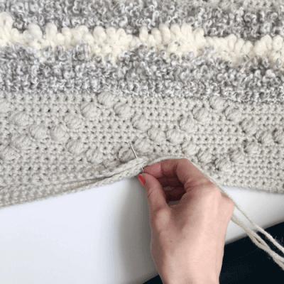 crochet puff stitch, puff stitch crochet tutorial