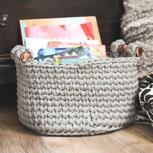 crochet baskt pattern