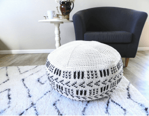 crochet floor cushion pattern