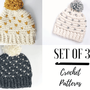 hat crochet patterns for winter
