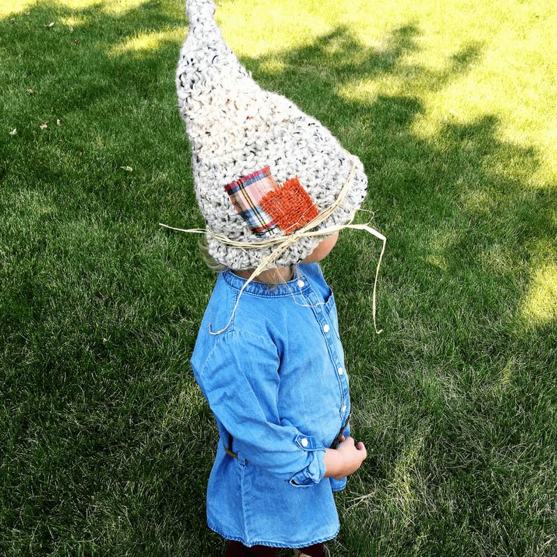 toddler scarecrow hat crochet pattern