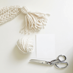 How to DIY yarn tassels in 5 easy steps. You can make jumbo tassels to add to your crochet pieces or dainty tassels from embroidery thread following this video tutorial.