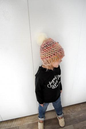 chunky toddler crochet hat pattern