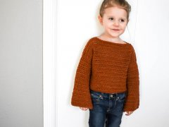 a free toddler crochet sweater pattern that ease your fears about making that first sweater .