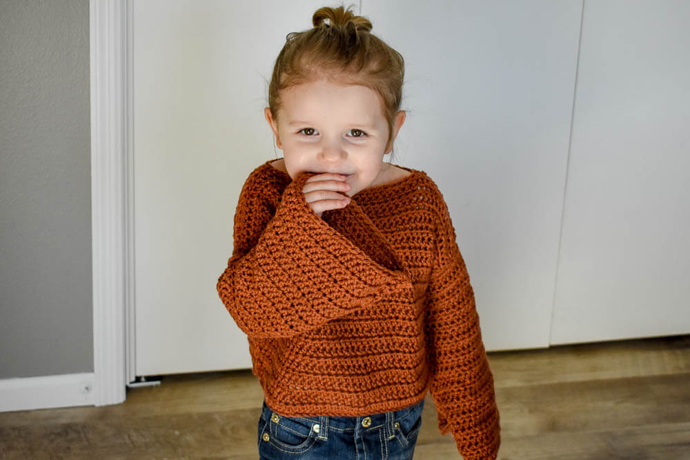 The Easy Crochet Sweater Pattern That S Perfect For Beginners