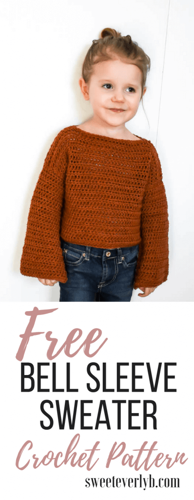 a free toddler crochet sweater pattern that's perfect for any beginner crocheter.