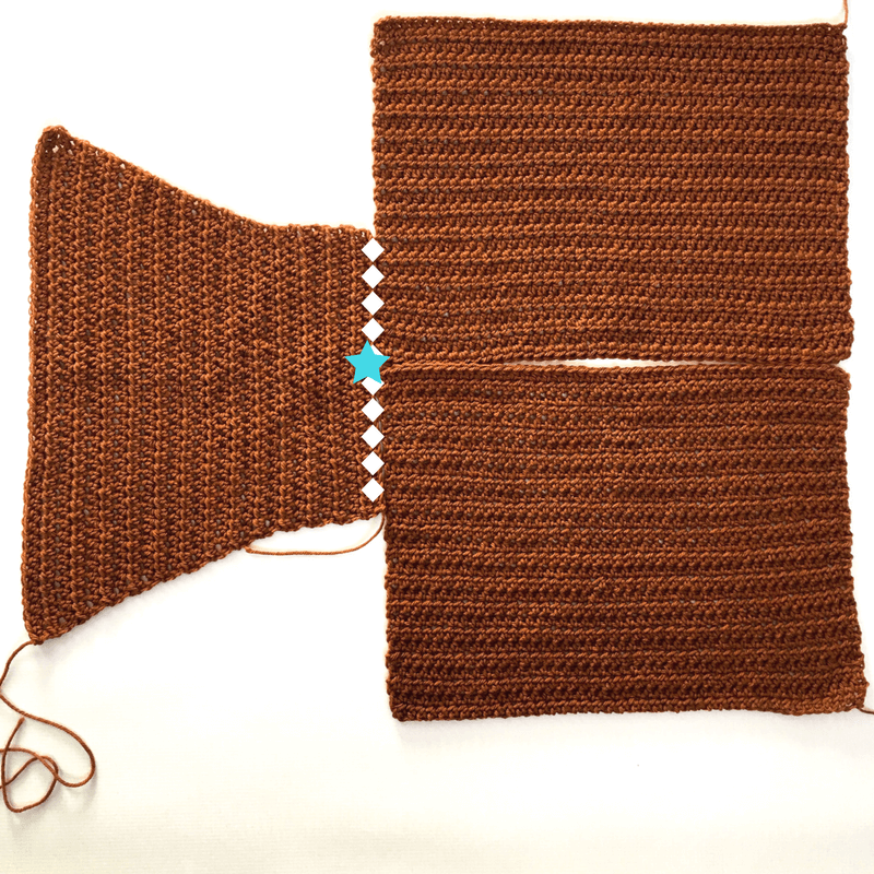 how to sew sleeves onto a crocheted sweater
