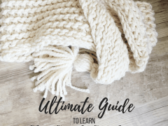 The ultimate guide to learn slip stitch crochet