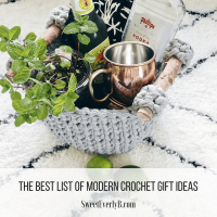 The best list of modern crochet gift ideas for friends.