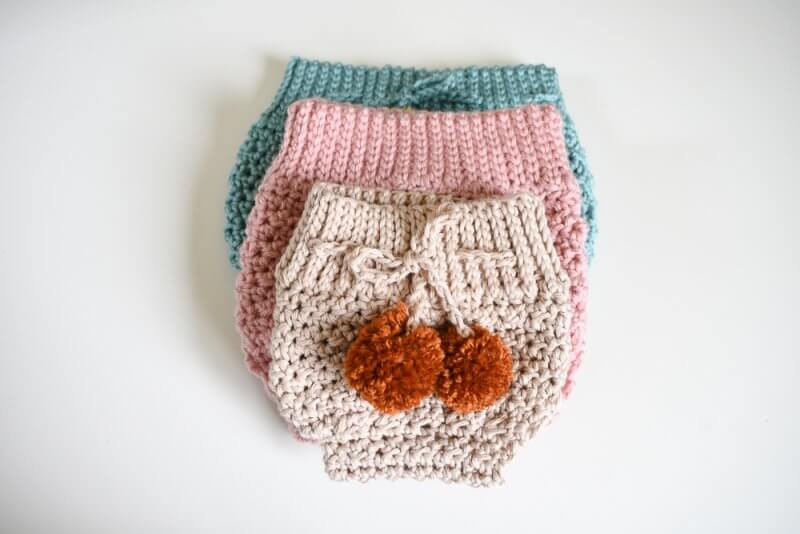 easy crochet diaper cover pattern for babies