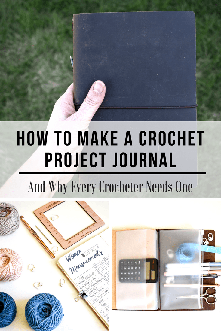 A crochet project planner that will work for you. Get your projects organized once and for all with these layouts and tips.