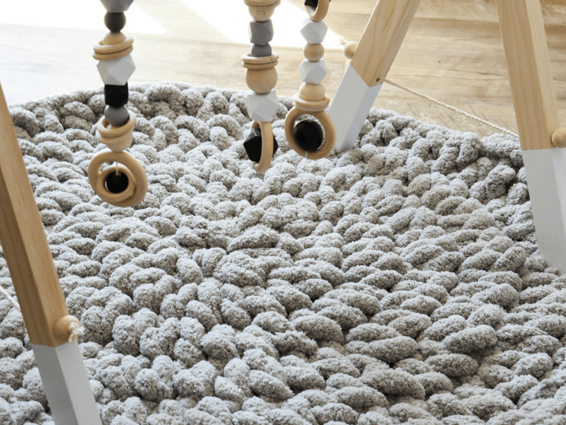How To Make A Modern Crochet Baby Play Mat In 1 Hour